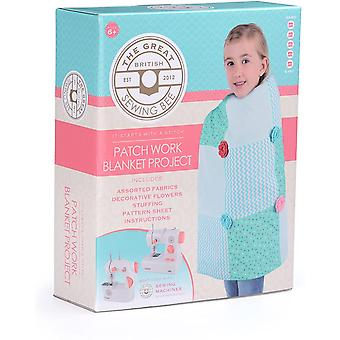 Great British Sewing Bee: Blanket Kit - Kids Sewing Project