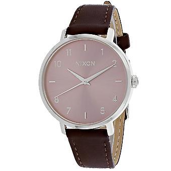 150, Nixon Women 's A1091-2878 Quartz Brown Watch