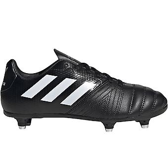 adidas Performance Boys All Blacks Soft Ground Training Rugby Boots - Black