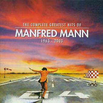 Manfred Mann - Complete Greatest Hits of Manfred Mann [CD] USA import