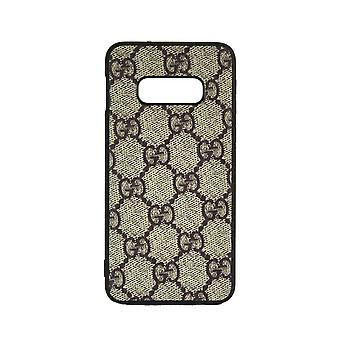 Phone Case Shockproof Cover Monogram GG For Samsung S8 (Cream)