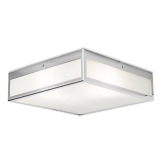 3 Lumière Petite Salle de bains Plafond Lumière Chrome IP44, E27