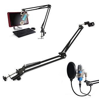 Foldable Microphone Stand Extendable Mic Stand  Arm Stand And Table Mounting Hanging