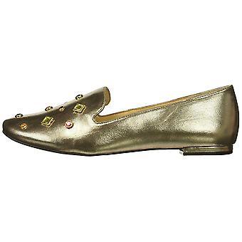Katy Perry Womens Turner cuero almendra del dedo del pie zapatos