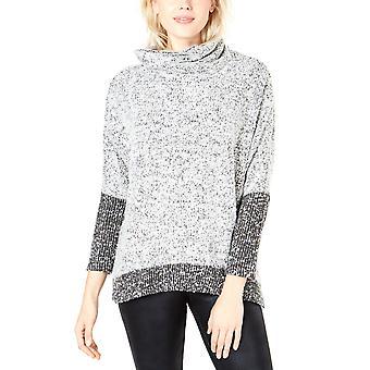 Bar III   Colorblocked Boucle Sweater