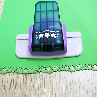 Punch Scrapbooking Handmade Edge Device Paper Cutter - S Flower Design