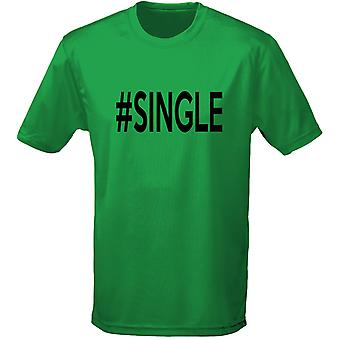 #Single humor Mens T-Shirt 10 kleuren (S-3XL) door swagwear