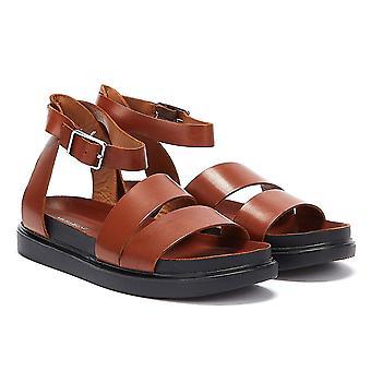 Vagabond Erin Ankle Strap Womens Brown Sandals