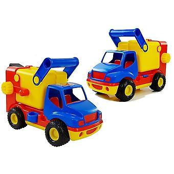 Toy Garbage Truck - Rubber Wheels - 27x14x18 cm