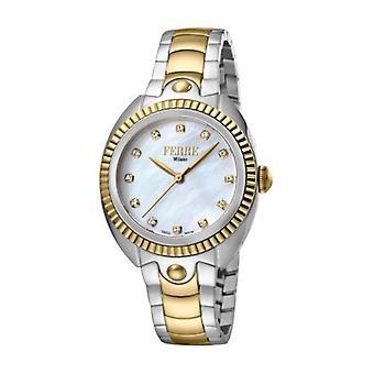 Ferre Milano Women's FM1L088M0091 MOP Dial Two-Tone IP Stainless Steel Watch