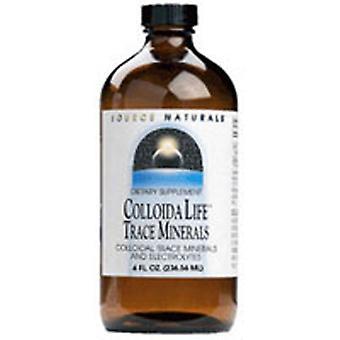 Källa Naturals Colloidalife Trace Minerals, 4 oz (118 ml)