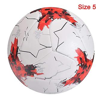 Newest Soccer Ball Standard Size Machine-stitched Pu Material Sports League