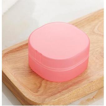 Runde Transparente Kunststoff Seifenkiste, Schwammhalter für zu Hause, Badezimmer