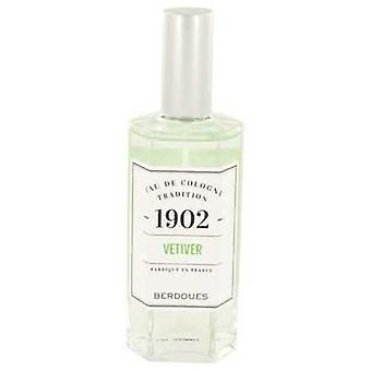 1902 Vetiver By Berdoues Eau De Cologne Spray (unisex) 4.2 Oz (women) V728-533292
