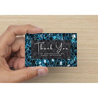 Thank You For Supporting My Small Business Cards