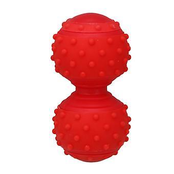 Röd Massage Boll Djup-Vävnad Avslappnande för rygg fot och skuldra Relax