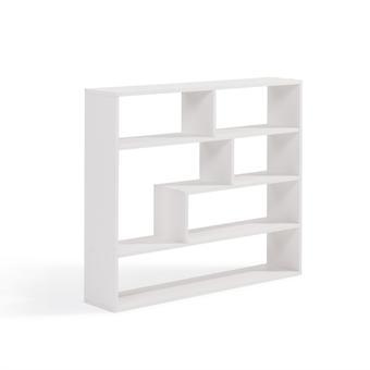 Danya B Grande scaffale bianco rettangolare