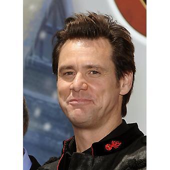 Jim Carrey em atendimento para DisneyS A Christmas Carol trem Tour lançamento Estação Union Los Angeles Ca 21 de maio de 2009 foto por Michael GermanaEverett coleção Photo Print