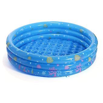 Kannettava lasten ulkouima-allas, puhallettava altaan kylpyamme