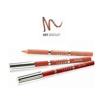 Defense Color Lip Design 207 Biscuit 1 unit