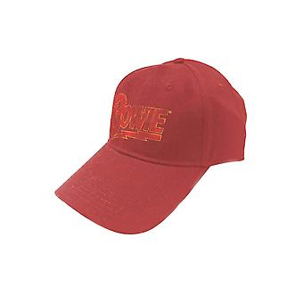David Bowie Baseball Cap Flash logo aladin sane nieuwe officiële SnapBack