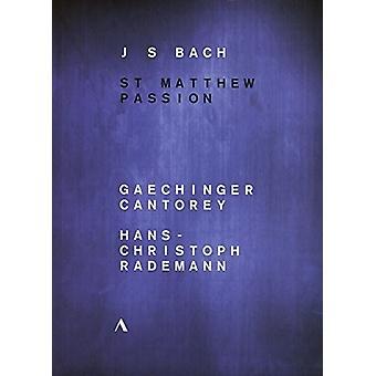 Matteus-Passio [DVD] Yhdysvallat tuoda
