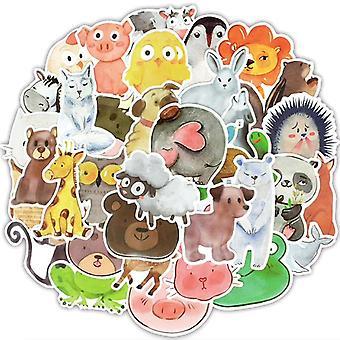 Adesivi da 50 piani - Motivi animali - Cartone animato