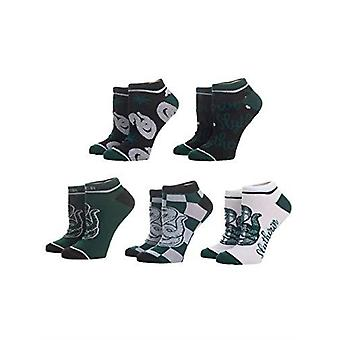 Harry Potter Slytherin Ankle Socks 5 Pair Pack