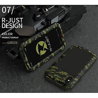 Heavy Duty Metal Aluminum Phone Case For Iphone