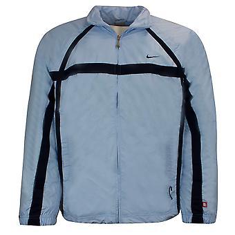 نايكي رجال Tracksuit المسار السراويل الأعلى سترة عارضة الرياضة الزرقاء 195628 420 M