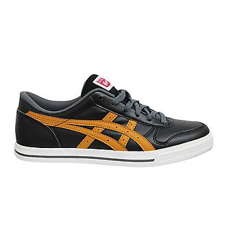 Onitsukatiger Aaron Black Tan Low Lace Up Casual Mens Trainers D3C3Y 9071