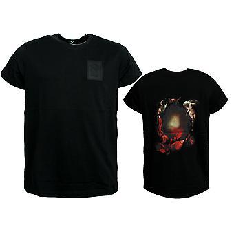 Puma X The Weeknd Xo Męski t shirt koszulka z krótkim rękawem Czarny 576901 01 R4H