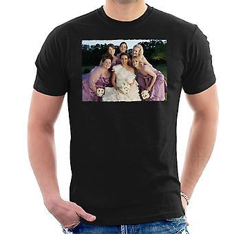 Morsiusneidot Morsiusjuhla Häät Valokuva Miehet's T-paita
