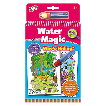 Galt toys water magic who's hiding, colouring book for children