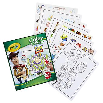 Color & Sticker, Toy Story 4