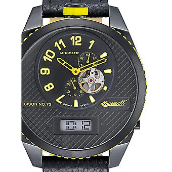 Mens Watch Ingersoll IN1716BBKY, Automatic, 55mm, 10ATM