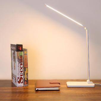 Lampe de table pliable Rotatable Touch Switch Led (sans Stepless Rose Gold