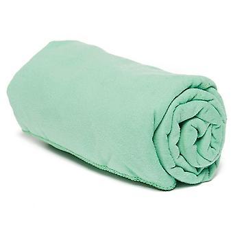 جديد Eurohike منجلد الغزال ستوكات منشفة السفر - متوسطة اللون الأخضر
