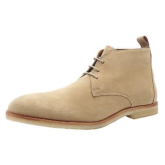 Chatham Wade Men's Desert Boots In Sand Suede
