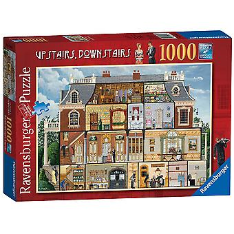 Ravensburger Jigsaw Puzzle Upstairs, Downstairs, 1000 pieces