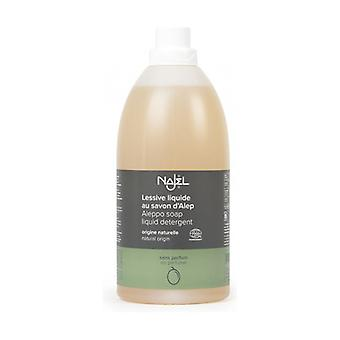 Liquid detergent with Aleppo soap - fragrance-free 2 L