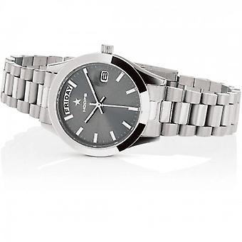 Hoops Luxury Steel Watch 2620l-s01 Gunmetal
