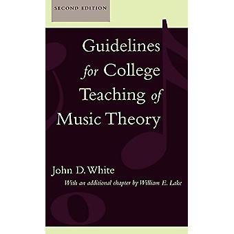 Diretrizes para o Ensino Universitário da Teoria da Música por John D. White - 97