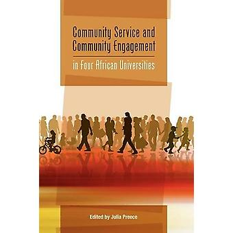 Community Service and Community Engagement in Four African Universiti