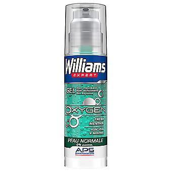 Williams Shaving Gel Normal Skin Expert Oxygen 0% alcohol 150 ml
