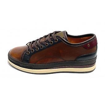 حذاء رجالي طموح حذاء رياضي 8014 جلد لون الجمل U21am01