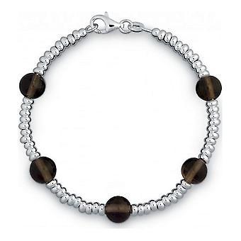 QUINN - Pulseira - Senhoras - Prata 925 - Pedra Preciosa - Quartzo Esfumaçado - 28312032