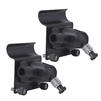 2 Pack, Wandplatte Gutter Halterung für Blink XT & Blink XT2 Outdoor-Kamera, beste Betrachtungswinkel für Ihre Blink XT Kamera, wetterfeste Aluminiumlegierung Material, schwarz