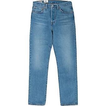 Levi's Rød Tabulator 501 Beskjær rette ben jeans