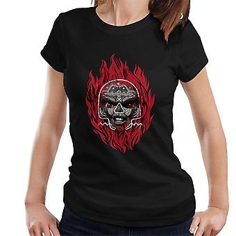 Chucky Flames Dames T-Shirt